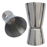 1/2 -1 oz Stainless Steel Double Jigger
