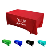 8 Ft 4 Sided Plain Table Cover