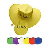 Foldable Cowboy Hat