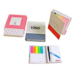 Hardcover Note Pads With Pen