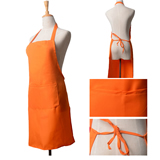 Polyester Full Length Apron 2 Pockets