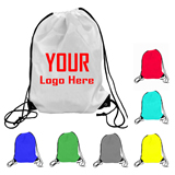 Polyester Sports Drawstring Backpack