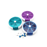 Round Twist Pill Box